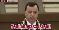 AYM Yeni Başkanı da Yeni Anayasa istedi