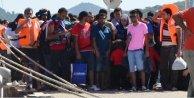 Ayvalıkta 412 Suriyeli kaçak yakalandı