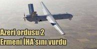 Azerbaycan ordusu 2 Ermeni İHA'sını vurdu