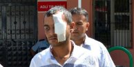 Babasını dövdü, linç edilmekten polis kurtardı