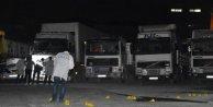 Bağcılarda TIR garajına ateş açıldı: 1 yaralı
