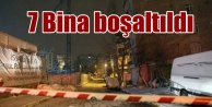 Bahçelievler'de göçük; 7 bina boşaltıldı
