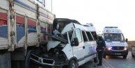Tem'de Feci Kaza 3 Ölü, 6 Yaralı