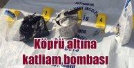 Başakşehirde köprüye katliam bombası : Faciayı polis önledi
