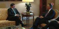 Başbakan Davutoğlu, Portekiz Cumhurbaşkanı Cavaco Silva ile görüştü
