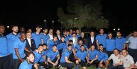 Başbakan Davutoğlu, Trabzonsporu ziyaret etti