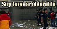 Basketbol maçı öncesi kavga, Sırp taraftar öldürüldü