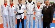 Başkonsolos Kayadan Alman Milli Tekvando Takımının Türk Asıllı sporcularına moral ziyareti