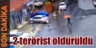 Bayrampaşa'da polise saldırı: 2 terörist öldürüldü