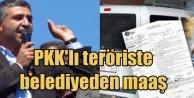 Belediye, PKKlı teröristlere maaş bağlamış