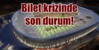 Beşiktaş Vodafone Arena bilet krizinde son durum
