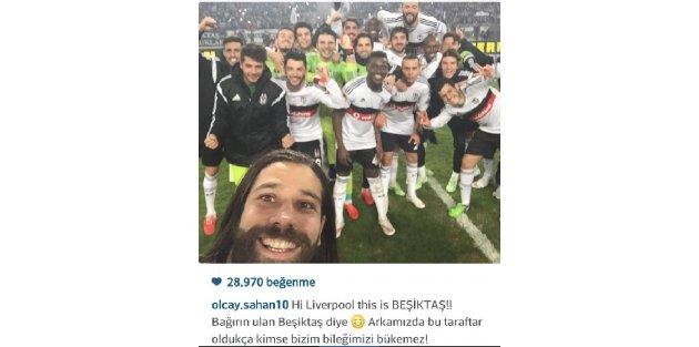 Beşiktaştan zafer selfiesi