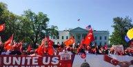 Beyaz Saray önünde soykırım iddialarına Türk bayraklı protesto - EK FOTOĞRAF