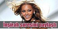 Beyonceden hayranlarına Kuran sureli mesaj