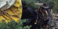 Beyşehirde kamyon uçuruma  devrildi, 3 ölü var