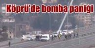 Köprüde bomba paniği; Tekirdağ plakalı araç trafiği kilitledi