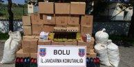Bolu'da kaçak zeytinyağı ve baharat operasyonu