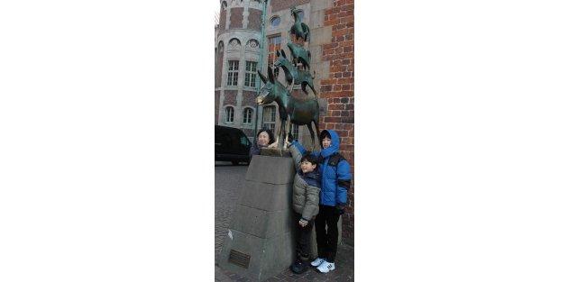 Bremen Mızıkacıları turist çekiyor