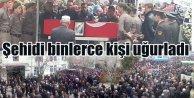 Bursa şehidini uğurladı: Nihat Topal'ı binlerce kişi karşıladı