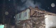 Bursada iki katlı ev yandı