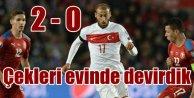 Çek Cumhuriyeti - Türkiye: 0  - 2  (GENİŞ ÖZET)