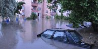 Çerkezköy sular altında: Yağmur Trakya'yı felç etti