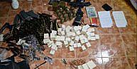 Ceylanpınarda ele geçirilen silah ve mühimmata 3 tutuklama