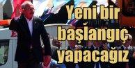CHP Lideri Kılıçdaroğlu: Yeni bir başlangıç yapacağız