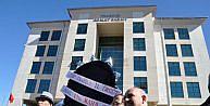Chpden Trabzonda Adliyeye Siyah Çelenk