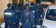 Çiğli'de izinsiz gösteri, 9 gözaltı var