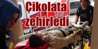 Çikolata öğrencileri hastanelik etti
