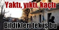 Çınar'da son durum; DBP binası ateşe verildi
