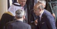 Cumhurbaşkanı Erdoğan Riyadda resmi törenle karşılandı (2)