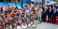 Cumhurbaşkanlığı Bisiklet Turu Alanyada başladı