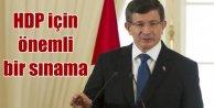 Davutoğlu: AB Bakanlığı HDP için bir sınama