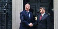 Davutoğlu - Cameron görüşmesi; Gündemde Suriye var