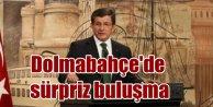 Davutoğlu Dolmabahçe'de medya yöneticileriyle buluştu