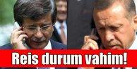 Davutoğlu; Elektrikler kesildi, Adliye basıldı