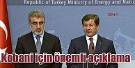 Davutoğlu, PKKlılar değil, Peşmerge geçecek