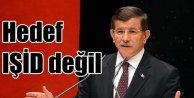Davutoğlu; Rusyanın hedefi IŞİD değil ÖSO