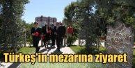 Davutoğlu ve Türkeş, Başbuğun mezarında