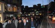 DBPden gözaltı protestosu
