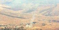 Derecikten Kuzey Iraka top atışı