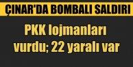 Diyarbakır Çınar'da bombalı saldırı; 22 yaralı var