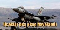 Diyarbakır havalanında en hareketli gece: Uçaklar havalandı