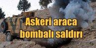 Diyarbakır Kocaköyde askeri araca bombalı saldırı