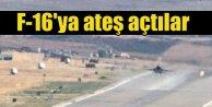 Diyarbakırda havalanmaya hazırlanan F-16lara ateş açıldı