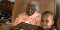 Dünyanın en yaşlı kadını 116. doğum gününü kutladı