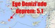 Ege'de deprem : 5.1