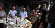 Elazığda İl Jandarma Komutanından koruculara iftar